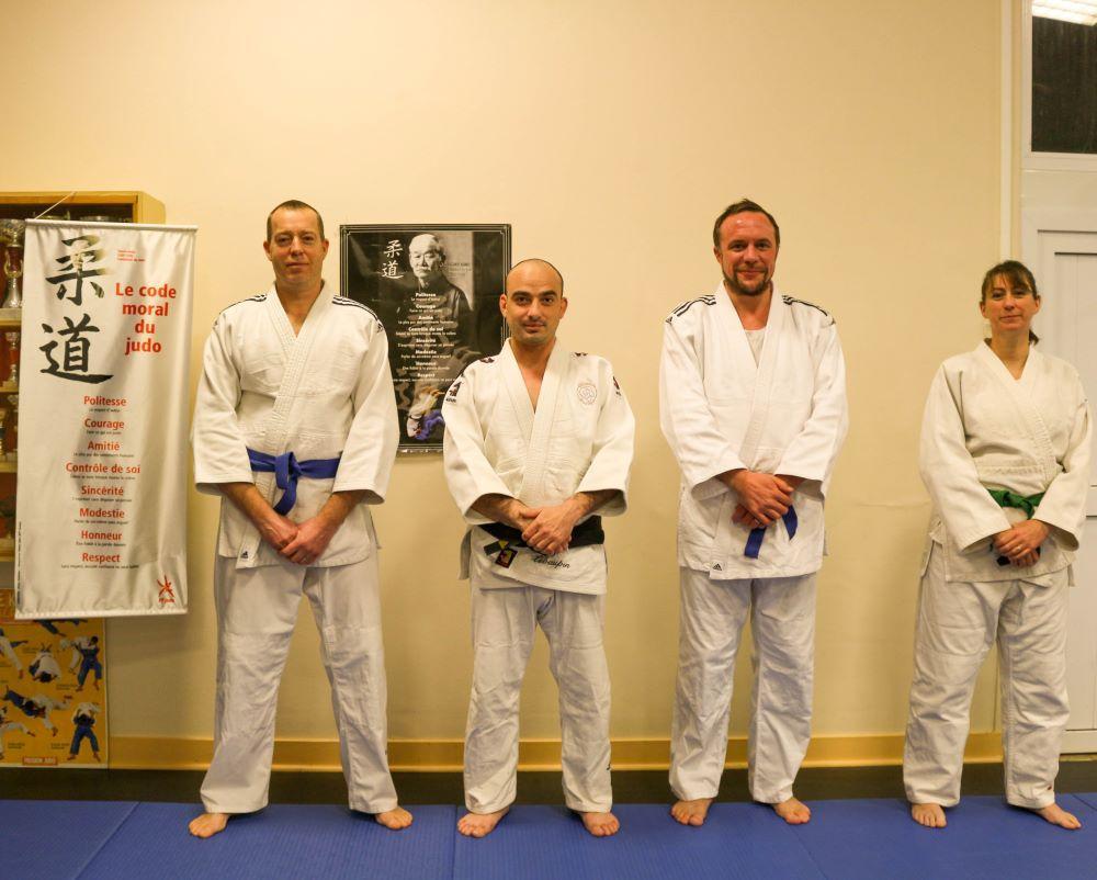 Bureau et prof judo monnaie 2020 bis