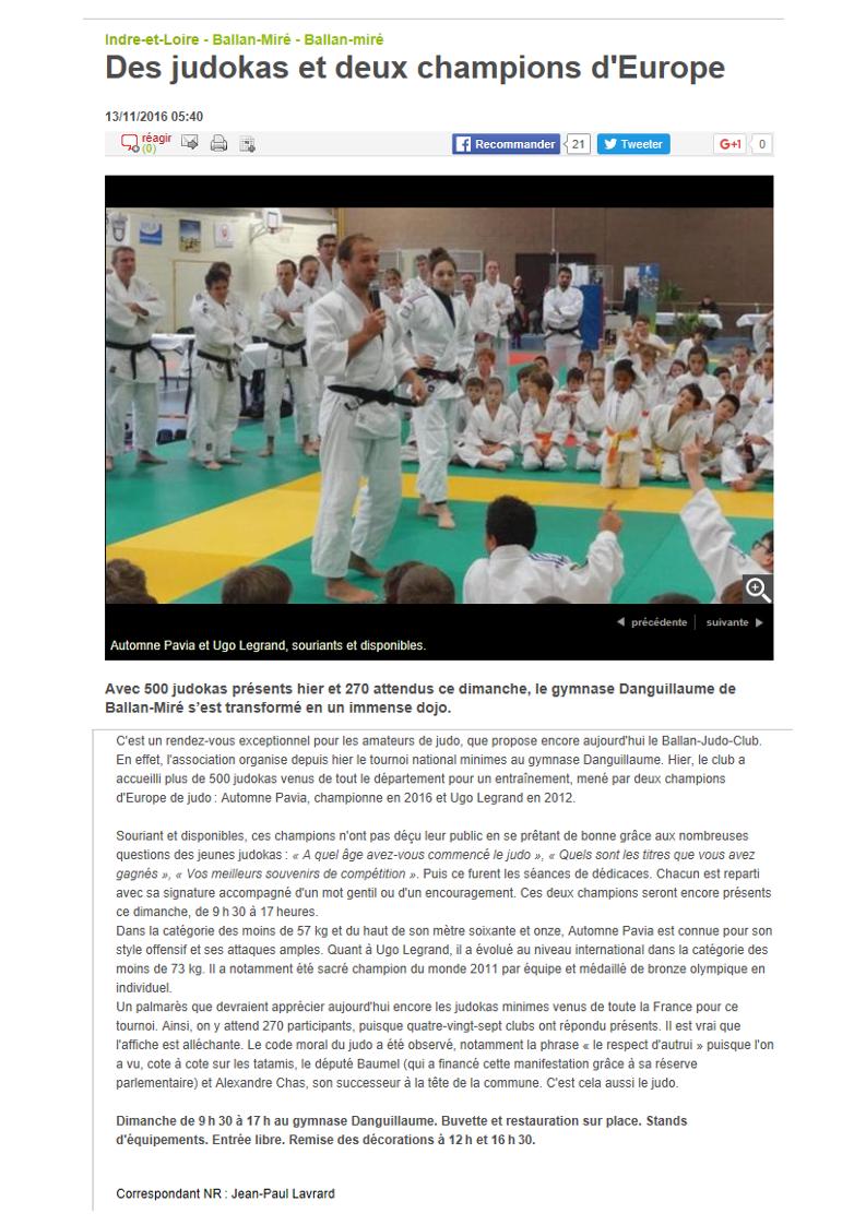 Nr 13 11 2016 rencontre judokas ballan
